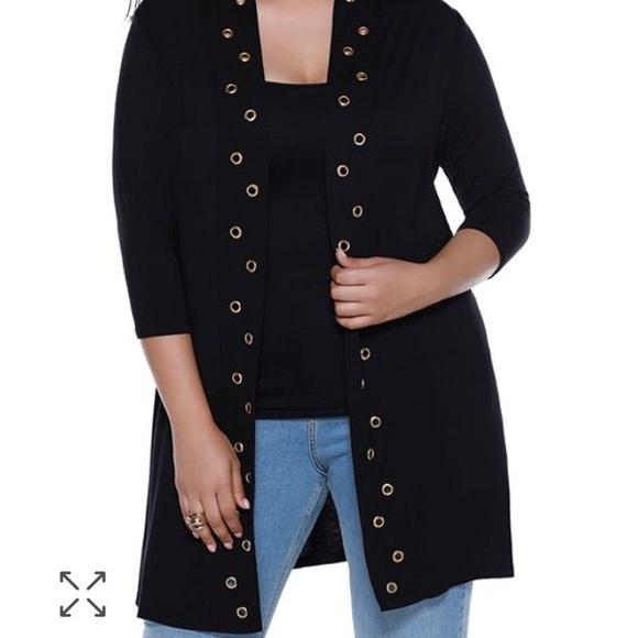 c16b141f6e6 Belldini Sweaters - BELLDINI GROMMET DUSTER CARDIGAN